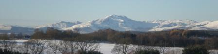 Winter view of Ben Ledi